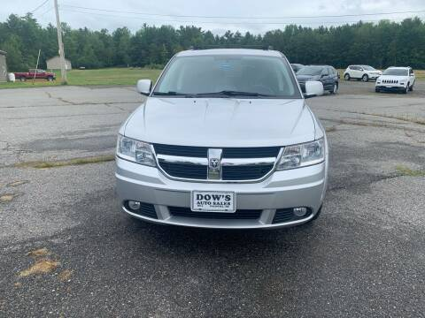 2010 Dodge Journey for sale at DOW'S AUTO SALES in Palmyra ME
