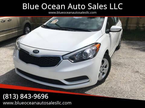 2016 Kia Forte for sale at Blue Ocean Auto Sales LLC in Tampa FL