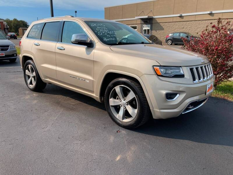 2015 Jeep Grand Cherokee for sale at McCully's Automotive - Trucks & SUV's in Benton KY