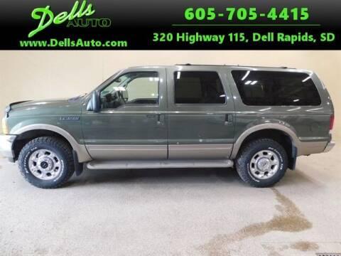 2000 Ford Excursion for sale at Dells Auto in Dell Rapids SD