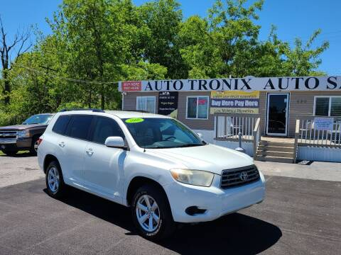 2008 Toyota Highlander for sale at Auto Tronix in Lexington KY