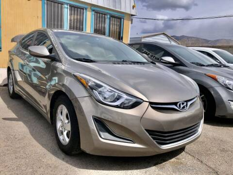2015 Hyundai Elantra for sale at Top Gun Auto Sales, LLC in Albuquerque NM