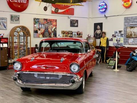 1957 Chevrolet Bel Air for sale at Drager's International Classic Sales in Burlington WA