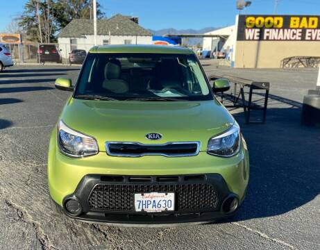2014 Kia Soul for sale at Global Auto Group in Fontana CA