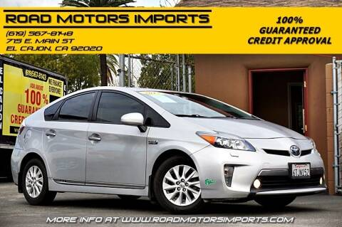 2012 Toyota Prius Plug-in Hybrid for sale at Road Motors Imports in El Cajon CA