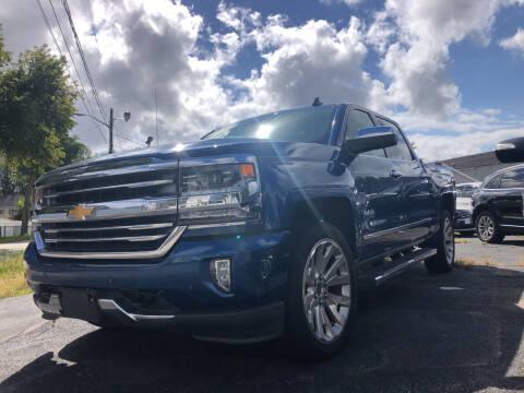 2016 Chevrolet Silverado 1500 for sale at Top Line Import of Methuen in Methuen MA