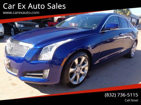 2013 Cadillac ATS for sale at Car Ex Auto Sales in Houston TX