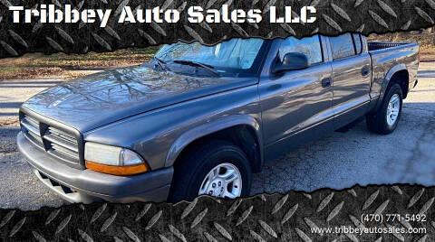 2003 Dodge Dakota for sale at Tribbey Auto Sales in Stockbridge GA