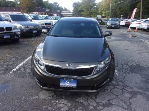 2013 Kia Optima for sale at Balic Autos Inc in Lanham MD