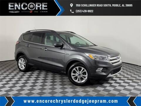 2018 Ford Escape for sale at PHIL SMITH AUTOMOTIVE GROUP - Encore Chrysler Dodge Jeep Ram in Mobile AL