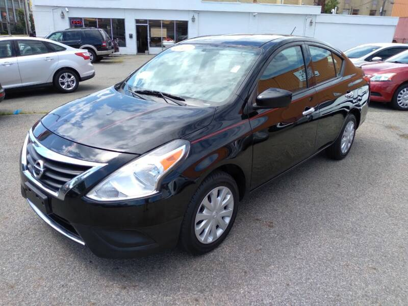 2017 Nissan Versa for sale at LYNN MOTOR SALES in Lynn MA