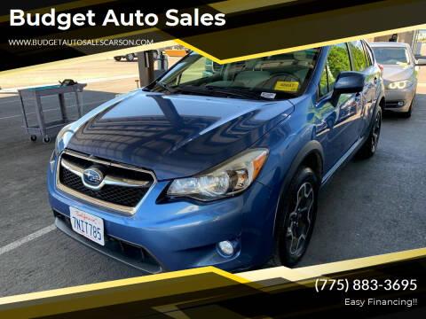 2014 Subaru XV Crosstrek for sale at Budget Auto Sales in Carson City NV