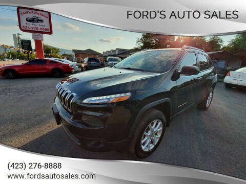 2015 Jeep Cherokee for sale at Ford's Auto Sales in Kingsport TN