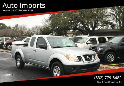 2012 Nissan Frontier for sale at Auto Imports in Houston TX