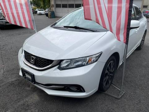 2013 Honda Civic for sale at Car VIP Auto Sales in Danbury CT