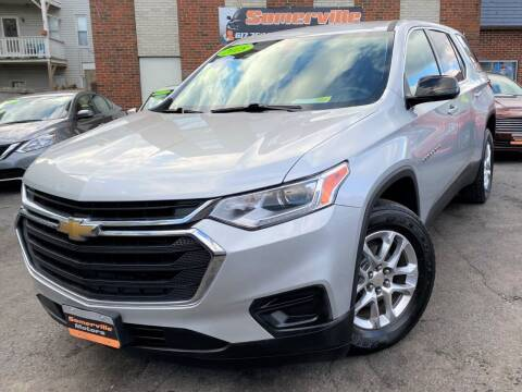 2018 Chevrolet Traverse for sale at Somerville Motors in Somerville MA