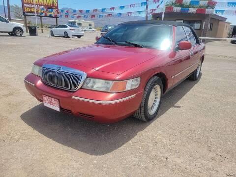 2001 Mercury Grand Marquis for sale at Bickham Used Cars in Alamogordo NM