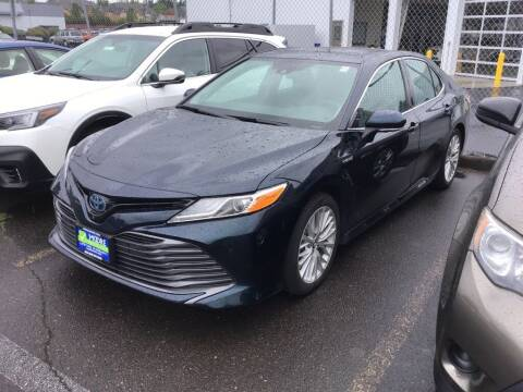 2019 Toyota Camry Hybrid for sale at Royal Moore Custom Finance in Hillsboro OR