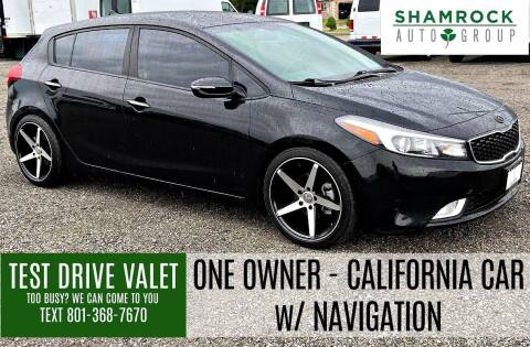 2017 Kia Forte5 for sale at Shamrock Group LLC #1 in Pleasant Grove UT