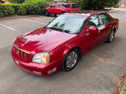 2001 Cadillac DeVille for sale at Seattle Motorsports in Shoreline WA