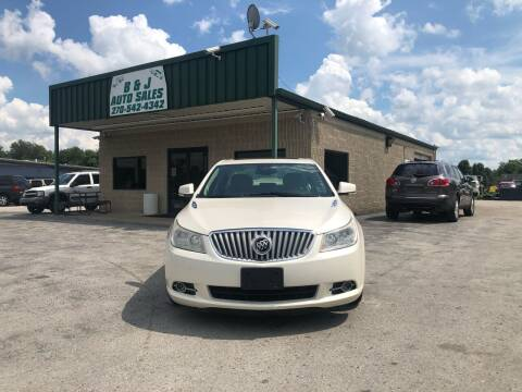 2012 Buick LaCrosse for sale at B & J Auto Sales in Auburn KY