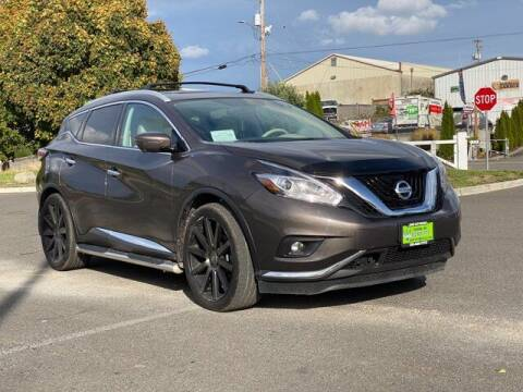 2017 Nissan Murano for sale at Sunset Auto Wholesale in Tacoma WA