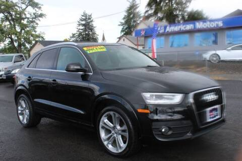 2015 Audi Q3 for sale at All American Motors in Tacoma WA