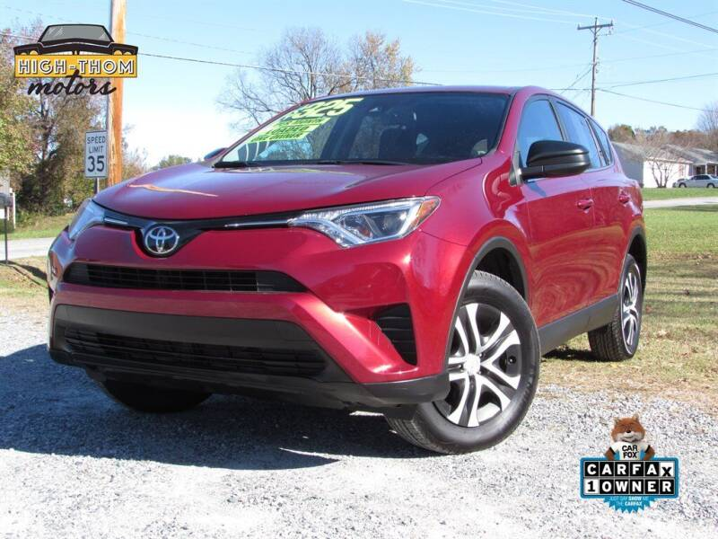 2018 Toyota RAV4 for sale at High-Thom Motors in Thomasville NC