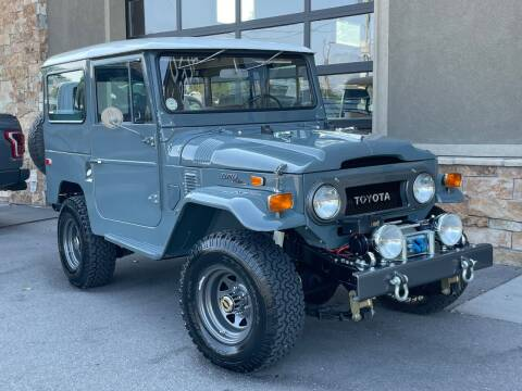 1970 Toyota Land Cruiser for sale at Unlimited Auto Sales in Salt Lake City UT
