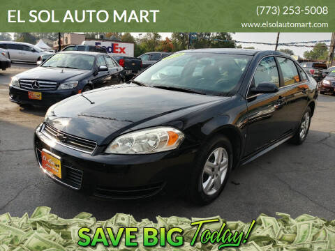 2010 Chevrolet Impala for sale at EL SOL AUTO MART in Franklin Park IL