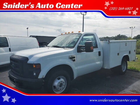 2008 Ford F-350 Super Duty for sale at Snider's Auto Center in Titusville FL