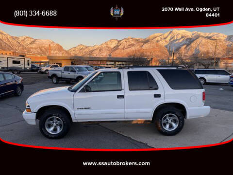 2002 Chevrolet Blazer for sale at S S Auto Brokers in Ogden UT