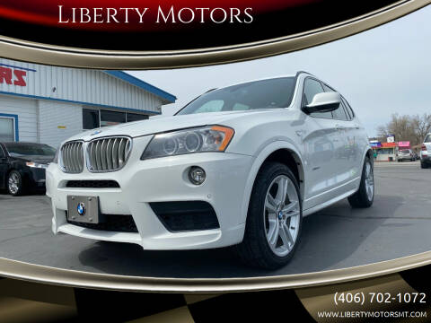 2014 BMW X3 for sale at Liberty Motors in Billings MT