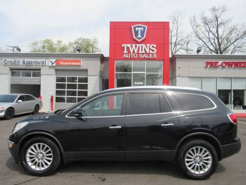 2012 Buick Enclave for sale at Twins Auto Sales Inc in Detroit MI