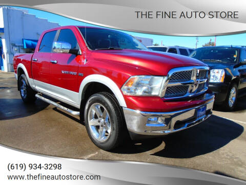 2012 RAM Ram Pickup 1500 for sale at The Fine Auto Store in Imperial Beach CA
