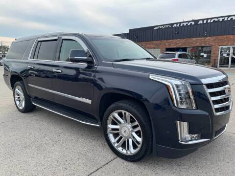 2017 Cadillac Escalade ESV for sale at Motor City Auto Auction in Fraser MI