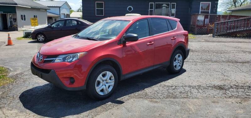2015 Toyota RAV4 for sale at MGM Auto Sales in Cortland NY