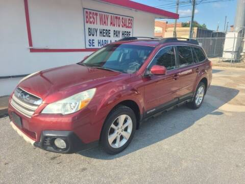 2013 Subaru Outback for sale at Best Way Auto Sales II in Houston TX