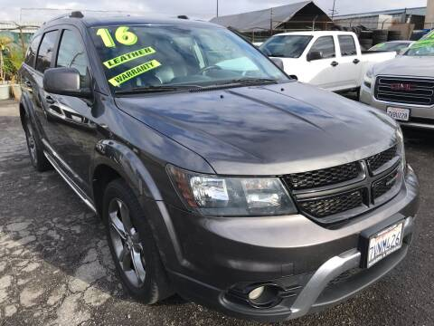 2016 Dodge Journey for sale at CAR GENERATION CENTER, INC. in Los Angeles CA