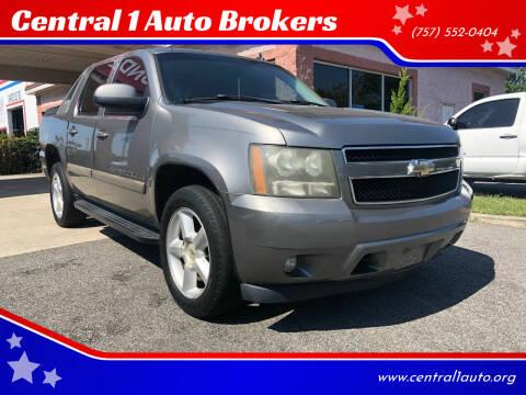 2008 Chevrolet Avalanche for sale at Central 1 Auto Brokers in Virginia Beach VA