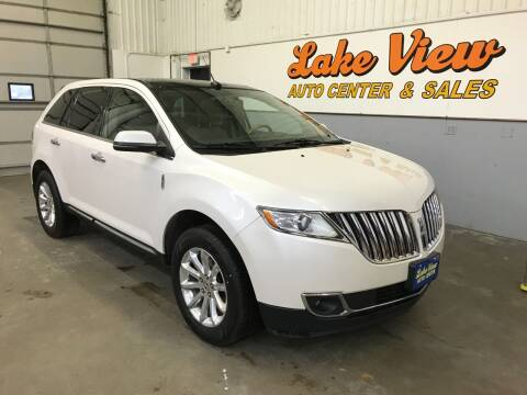 2012 Lincoln MKX for sale at Lake View Auto Center and Sales in Oshkosh WI