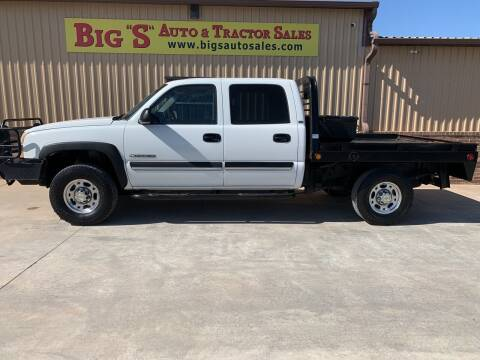 2003 Chevrolet Silverado 2500HD for sale at BIG 'S' AUTO & TRACTOR SALES in Blanchard OK