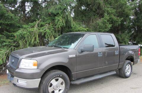 2005 Ford F-150 for sale at B & C Northwest Auto Sales in Olympia WA