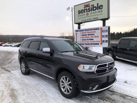2017 Dodge Durango for sale at Sensible Sales & Leasing in Fredonia NY