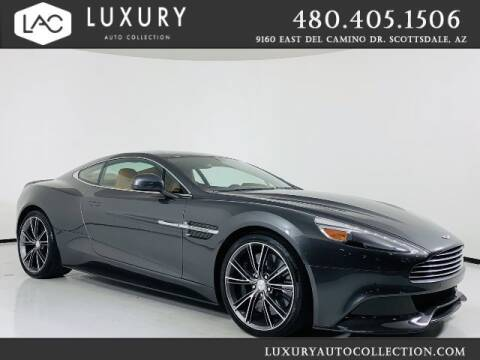 2014 Aston Martin Vanquish for sale at Luxury Auto Collection in Scottsdale AZ