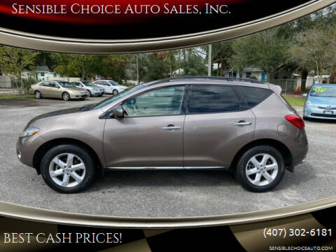 2009 Nissan Murano for sale at Sensible Choice Auto Sales, Inc. in Longwood FL