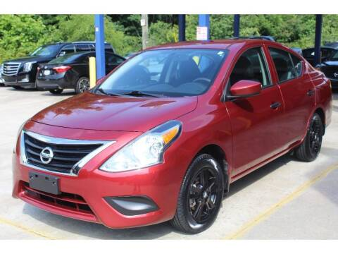 2018 Nissan Versa for sale at Inline Auto Sales in Fuquay Varina NC