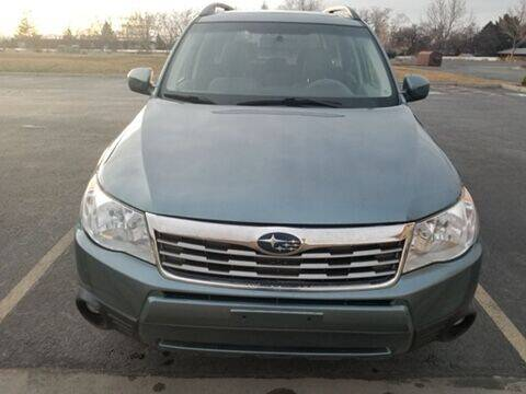 2009 Subaru Forester for sale at BELOW BOOK AUTO SALES in Idaho Falls ID