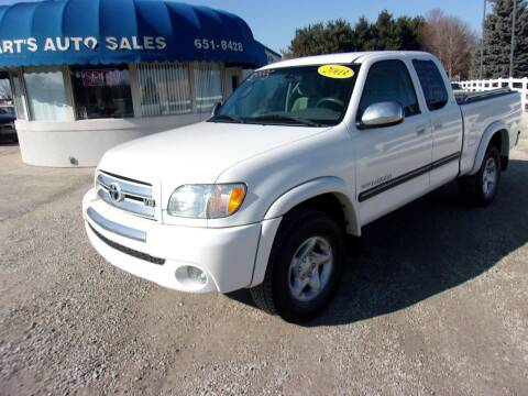2003 Toyota Tundra for sale at Marty Hart's Auto Sales in Sturgis MI