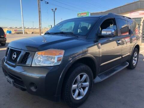 2010 Nissan Armada for sale at Auto Limits in Irving TX